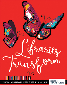 Join the National Library Week celebration!