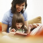 Show Your Child Affection, Especially While Reading