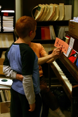 Make music with your child