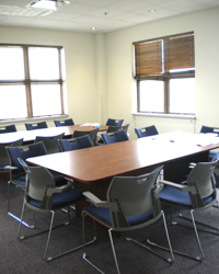 New meeting room and study rooms