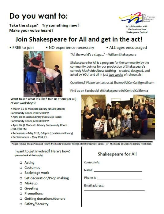 Shakespeare for All