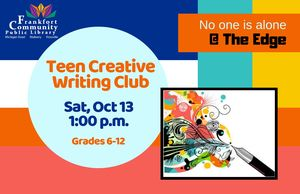 Teen Activity- Creat