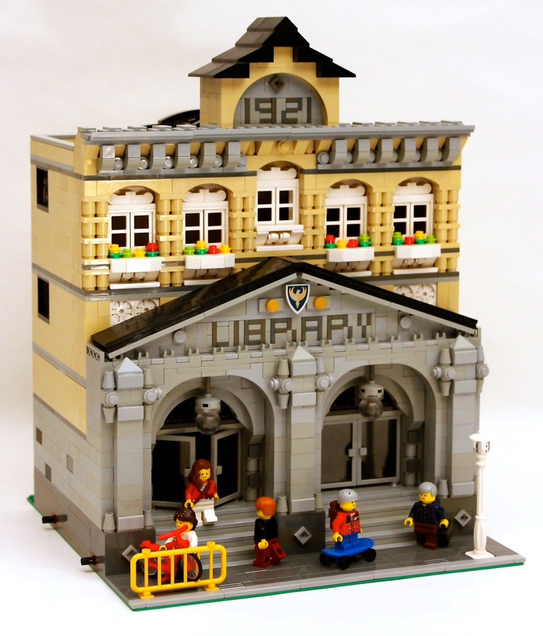 Legos @ the Library