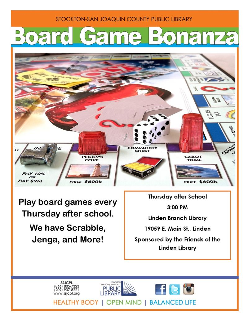 Board Game Bonanza
