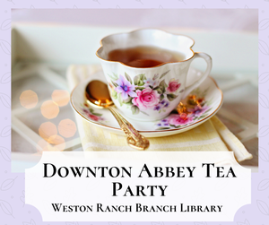 Downton Abbey Tea Pa
