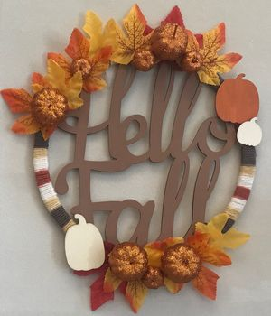 Decorate an Autumn W