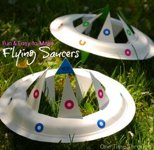 Flying Saucer Frisbe