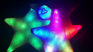 LED Rainbow Star Cra