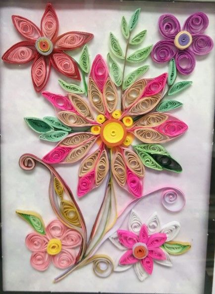 Paper Quilling for A