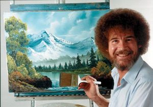 Adult Bob Ross Paint