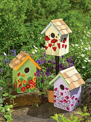 Paint a Bird House (