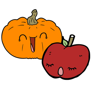 Apple or Pumpkin Pot
