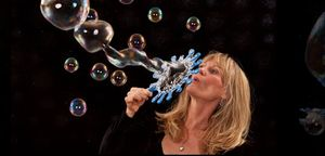 The Bubble Lady on F