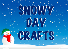 Snowy Day Crafts for