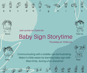 Baby Sign Storytime