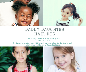 Daddy Daughter Hair