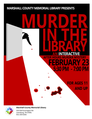 Murder at the Librar