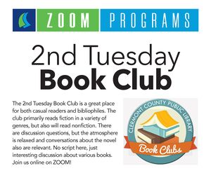 Zoom: 2nd Tuesday Bo