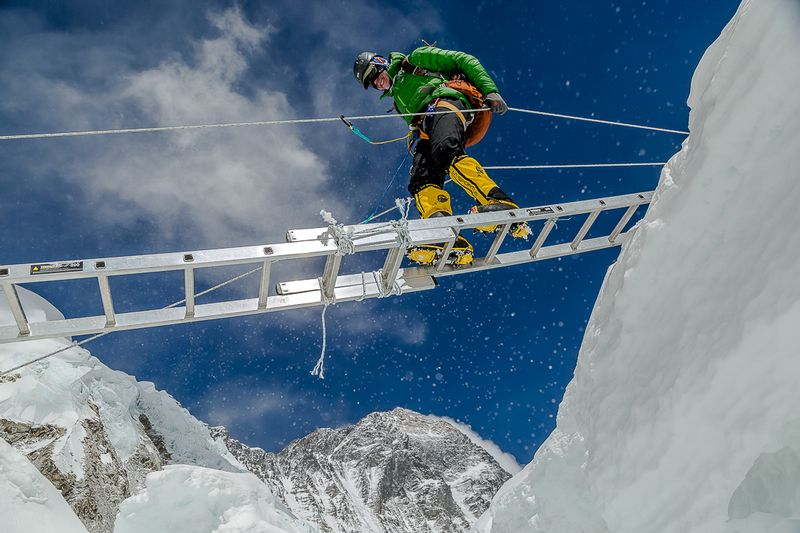 Climbing Mt. Everest
