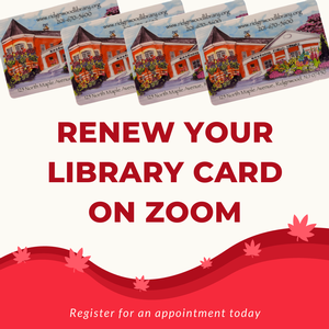 Zoom Library Card Re