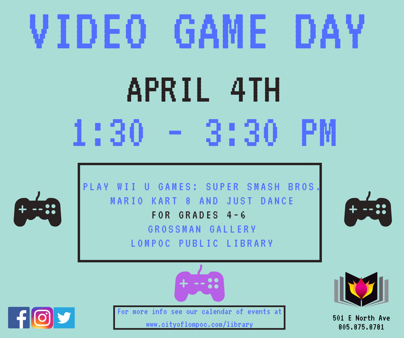 Video Game Day