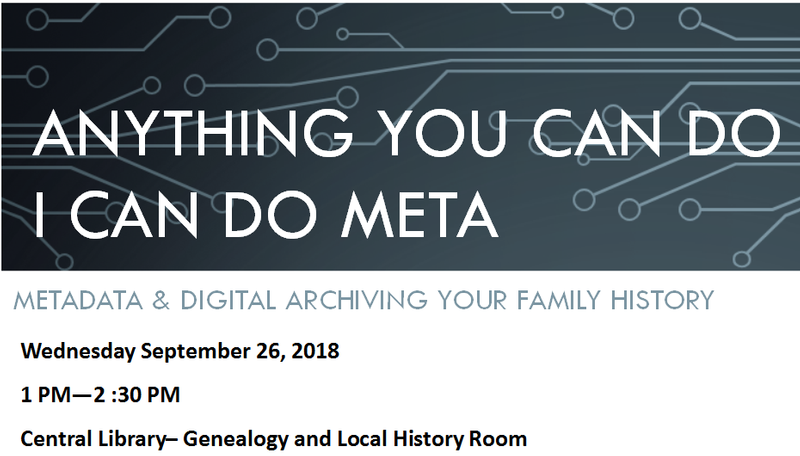 GENEALOGY - Anything