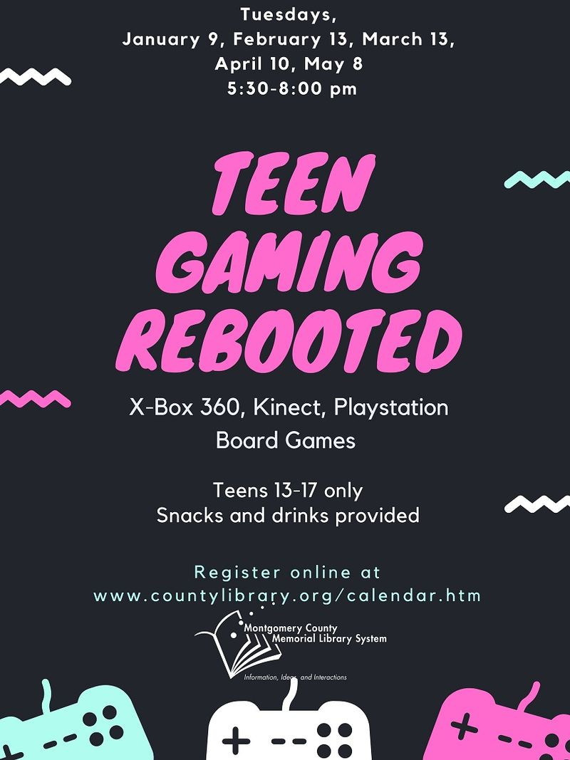 MITCHELL Teen Gaming