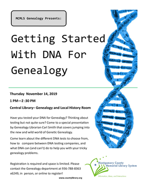 GENEALOGY - Getting