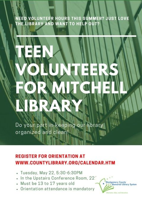 MITCHELL Teen Volunt