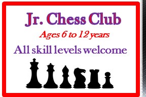Jr. Chess Club @ Mai