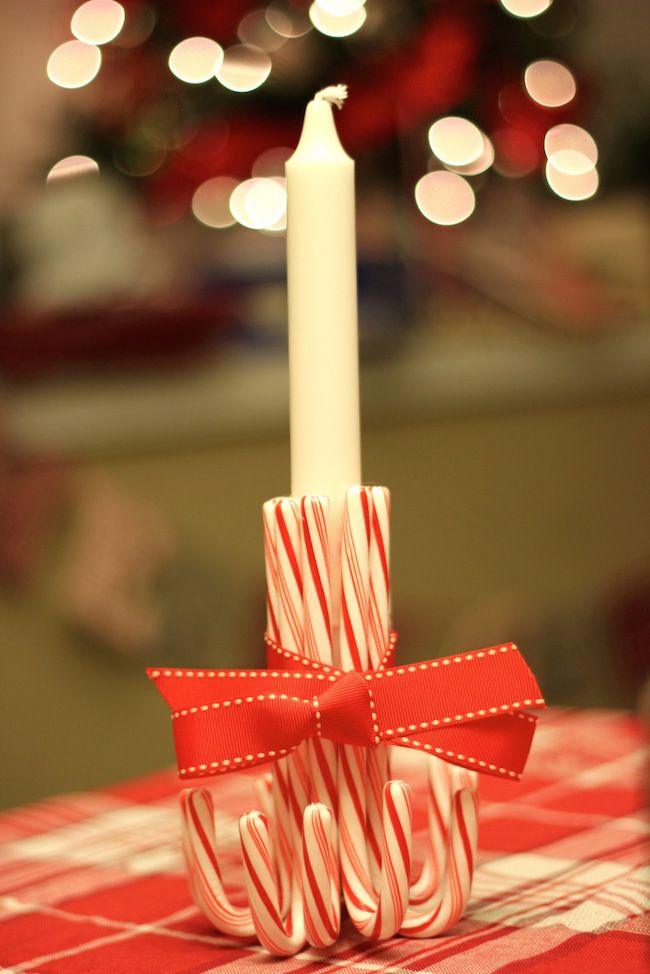 Candy Cane Candelabr