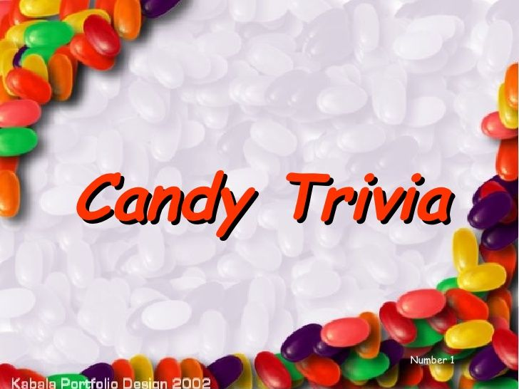 Candy Trivia - Oakes
