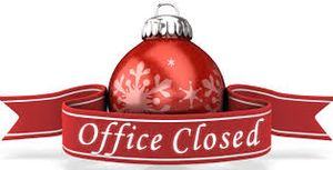 CLOSED - Happy Holid