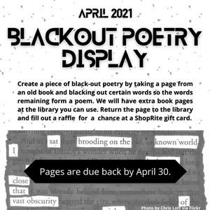 Black-Out Poetry Con