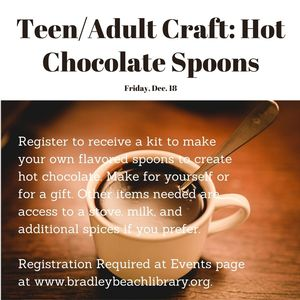 Teen/Adult Craft: Ho