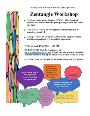 Zentangle Workshop -
