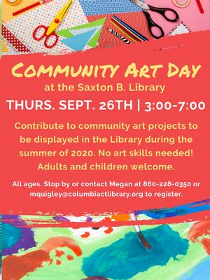 Community Art Day!