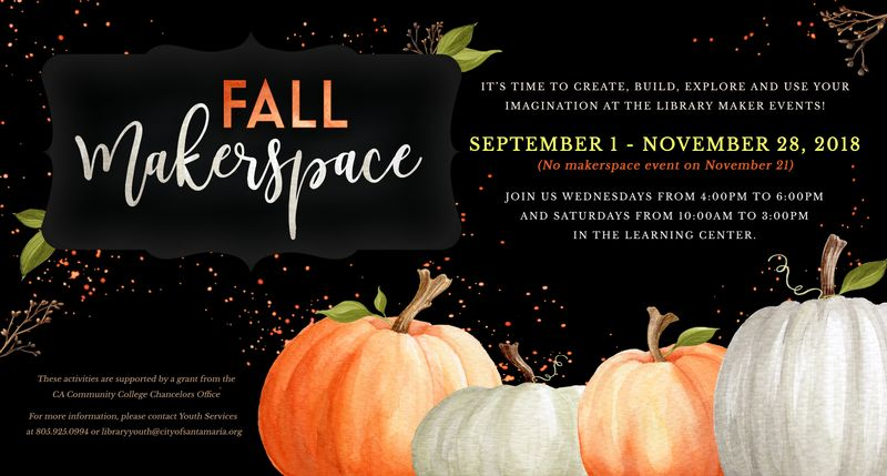 Fall MakerSpace