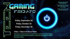 Teen Gaming Fridays