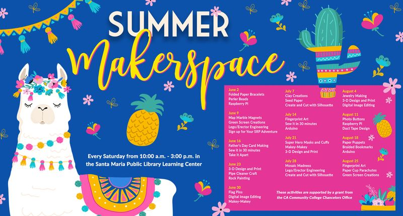 Summer MakerSpace