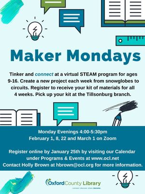 Maker Mondays on Zoo