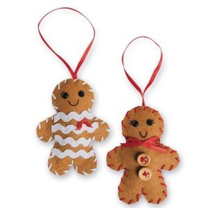 Sewn Gingerbread Peo