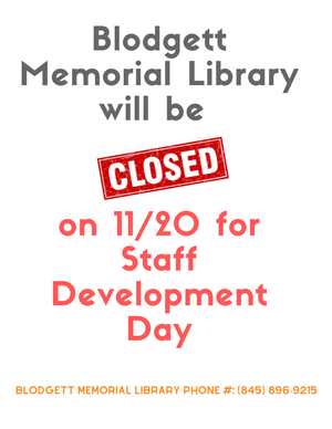Library Closed for S