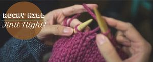 Knit Night! Online m