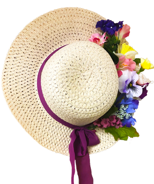 Zoom: Spring Hat Wre