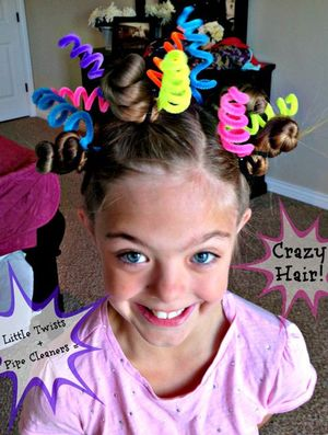 Crazy Hair Day Lesso