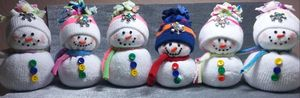 Family Snowman Craft